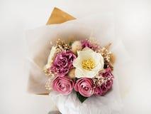 Mazzo floreale di carta Immagini Stock