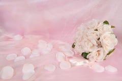 Mazzo floreale di cerimonia nuziale nuziale immagini stock
