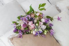 Mazzo fresco dei fiori Immagine Stock