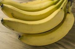 Mazzo naturale fresco della banana Immagini Stock Libere da Diritti