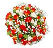 mazzo nuziale ad una festa nuziale, mazzo di fiori. è Fotografie Stock Libere da Diritti