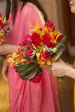Mazzo nuziale di nozze fotografia stock libera da diritti