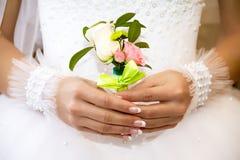 Mazzo per lo sposo Fotografia Stock
