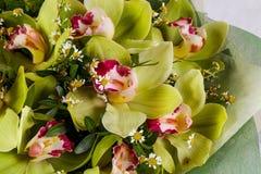Mazzo romanzesco del fiore Fotografie Stock Libere da Diritti