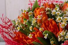 Mazzo romanzesco del fiore Immagini Stock