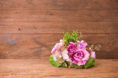 Mazzo rosa dell'annata Fotografia Stock