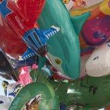 Mazzo variopinto dei palloni immagini stock libere da diritti