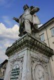 Mazzoni monument in Prato, Italy Royalty Free Stock Photo
