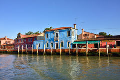 Mazzorbo海岛 库存照片