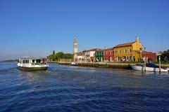 Mazzorbo-Insel Lizenzfreie Stockfotos