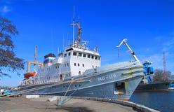MB-119 -估计714的海拖曳 免版税图库摄影