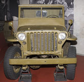 MB -四轮驱动的车 免版税库存照片