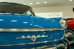 MB 1000 de SKODA de voiture de vintage - vue d'avant Images libres de droits