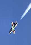 MB-339 of the italian acrobatic team Frecce Tricolori Stock Photos