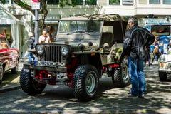 MB leggero militare di Willys dei veicoli utilitari Fotografie Stock