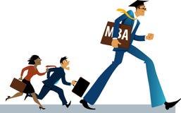 MBA advantages Stock Photo