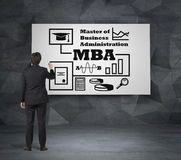 Mba concept Royalty Free Stock Photo