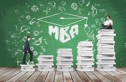 MBA education Stock Image