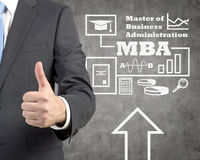 Mba scheme Stock Photo