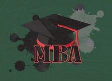 Mba symbol Stock Photo