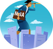 MBA for women Royalty Free Stock Photo