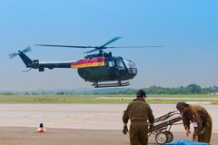MBB - BO 105 C stock photography