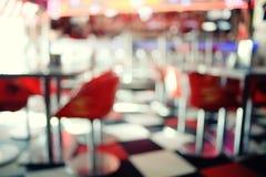 Möbel im Café Lizenzfreie Stockfotos