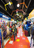 MBK商城的人们在曼谷 图库摄影