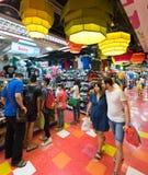 MBK商城的,曼谷人们 图库摄影