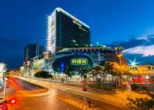 MBK商城,曼谷,泰国 免版税库存图片