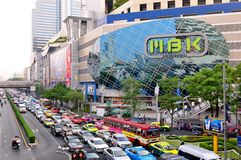MBK Bangkok central Images stock