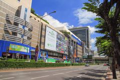 MBK Center,  shopping mall in Bangkok Royalty Free Stock Photography