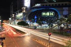 MBK Center. Thailand traffic jam Royalty Free Stock Photography