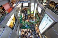 MBK centran la alameda de compras, alameda popular en el área de Siam Square Fotografía de archivo