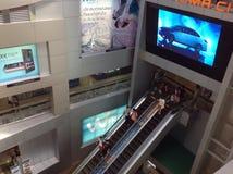 MBK-mitt, shoppinggalleria i Bangkok Arkivbilder