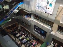 MBK-mitt, shoppinggalleria i Bangkok Royaltyfri Fotografi