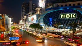 MBK-Mitte ist ein Einkaufszentrum in Bangkok stock footage