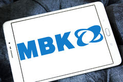 MBK scooter manufacturer logo Stock Photography