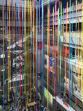 MBK-winkelcomplex voor Kerstmis, de stad die van Bangkok wordt verfraaid Stock Afbeeldingen