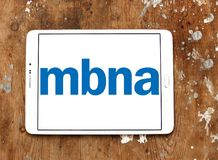 MBNA Corporation logo Stock Image