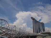 mbs singapore helix моста Стоковые Фото