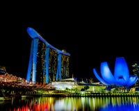 MBS Singapore royalty free stock photos