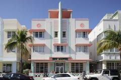 Mc Alpin Hotel Ocean Drive Stock Photography