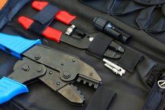 MC4 Crimping narzędzie Fotografia Stock
