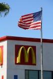 Mc Donald et étoiles et pistes Photos libres de droits
