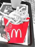 Mc Donald fries Stock Images