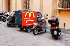 Mc Donald's Italy Royalty Free Stock Photography