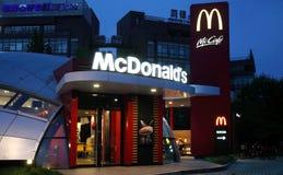 Mc donalds在中国 图库摄影