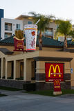 Mc Donalds, Hollywood. Royalty Free Stock Photography