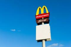 Mc Donalds logo Arkivfoto